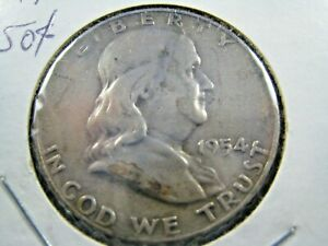 1954D  FRANKLIN HALF DOLLAR