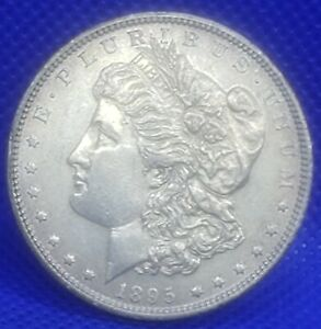 1895 O MORGAN SILVER DOLLAR. HIGH QUALITY  NEARLY UNCIRCULATED