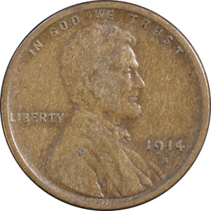 1914 S LINCOLN CENT GREAT DEALS FROM THE EXECUTIVE COIN COMPANY