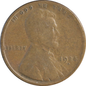 1924 D LINCOLN CENT GREAT DEALS FROM THE EXECUTIVE COIN COMPANY