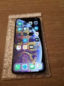 APPLE IPHONE XS MAX   256GB   WHITE SPRINT SMARTPHONE   CHECK ESN FACE ID ISSUES