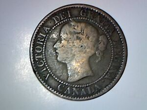CANADA 1859/8 CENT WIDE 9  GOOD DETAILS