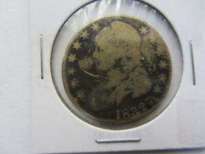 1832 CAPPED BUST HALF DOLLAR SCRATCHED FILLER   SEE PHOTOS