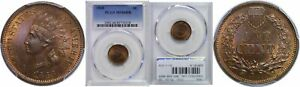 Click now to see the BUY IT NOW Price! 1868 INDIAN HEAD CENT PCGS MS 66 RB