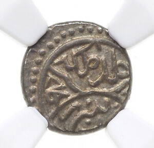 Click now to see the BUY IT NOW Price! OTTOMAN EMPIRE. MEHMED II 1ST REIGN SILVER AKCE AH 848  1444  NGC AU58