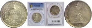 Click now to see the BUY IT NOW Price! 1861 50C CSA RESTRIKE PCGS MS 63