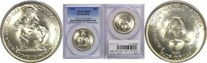 1938 NEW ROCHELLE SILVER COMMEMORATIVE PCGS MS 67