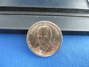 2015 D EISENHOWER CLAD DOLLAR GEM BU 34TH PRESIDENT IKE1953 1961 UPPER GRADING