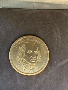 2007 D JAMES MADISON PRESIDENTIAL DOLLAR COIN CIRCULATED