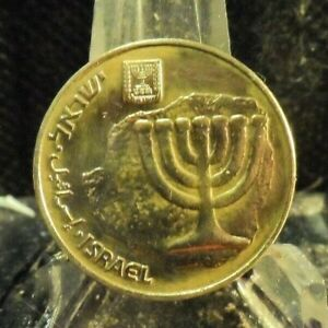 CIRCULATE DATE ? 10 AGOROT ISRAEL COIN  80819 1 .FREE DOMESTIC SHIPPING