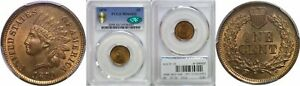 Click now to see the BUY IT NOW Price! 1870 INDIAN HEAD CENT PCGS MS 66 RB CAC