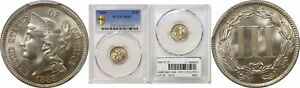 Click now to see the BUY IT NOW Price! 1888 NICKEL THREE CENT PIECE PCGS MS 67