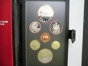 1984 CANADA PROOF SET 7 COIN