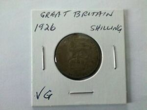 GREAT BRITAIN 1926 SHILLING