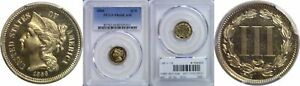 Click now to see the BUY IT NOW Price! 1866 NICKEL THREE CENT PIECE PCGS PR 66 CAM