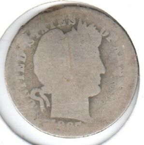 1897 O FAIR BARBER DIME IDENTIFIABLE AS TO DATE AND MINT MARK