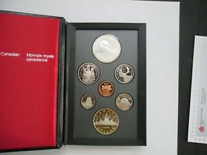 1986 CANADA PROOF SET 7 COIN