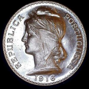 Click now to see the BUY IT NOW Price! PORTUGAL 1916 50 CENTAVOS CHBU   HIGH GRADE