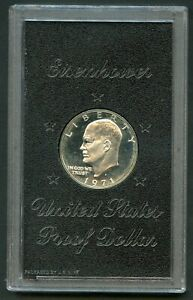 UNITED STATES 1971 SILVER PROOF  EISENHOWER DOLLAR ORIGINAL PACKAGE AS ISSUED