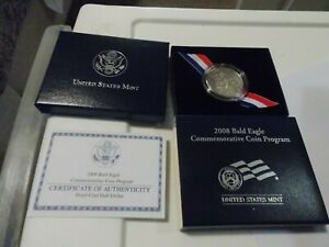 2008 BALD EAGLE COMMEMORATIVE   PROOF HALF  DOLLAR