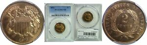 Click now to see the BUY IT NOW Price! 1872 TWO CENT PIECE PCGS PR 67 RB