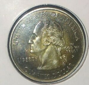 2000 P NEW HAMPSHIRE STATE QUARTER CLAD ERROR AWESOME LOOKING QUARTER