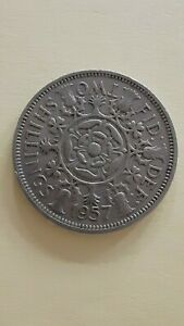 1957 BRITISH TWO SHILLINGS COIN