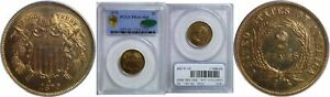 Click now to see the BUY IT NOW Price! 1870 TWO CENT PIECE PCGS PR 66  RD CAC