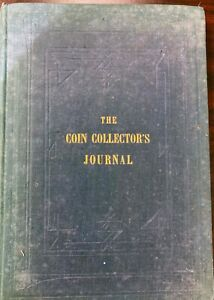 1876 THE  COIN COLLECTING JOURNAL BOOK