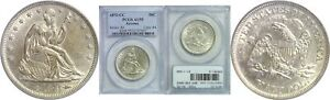 Click now to see the BUY IT NOW Price! 1873 CC SEATED LIBERTY HALF DOLLAR PCGS AU 55 ARROWS