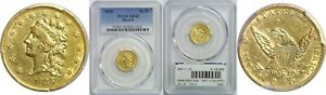 1836 $2.50 GOLD COIN PCGS XF 40 BLOCK 8