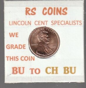 2003  LINCOLN  CENT     UNCIRCULATED     NICE  HAND PICKED CENT  FROM RS COINS