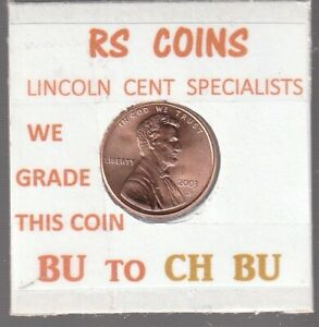 2003D  LINCOLN  CENT     UNCIRCULATED     NICE  HAND PICKED CENT  FROM RS COINS