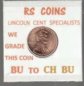 2006D   2007D  LINCOLN CENTS  UNCIRCULATED  NICE HAND PICKED CENTS FROM RS COINS