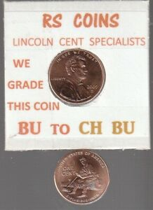 2009D LOG SPLTR  LINCOLN CENT  UNCIRCULATED  NICE HAND PICKED CENT FROM RS COINS