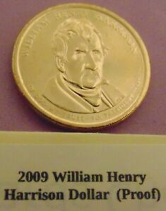 2009 S WILLIAM HENRY HARRISON PRESIDENTIAL  PROOF  COIN