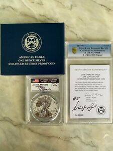 Click now to see the BUY IT NOW Price! 2019 S ENHANCED REVERSE PROOF SILVER EAGLE PCGS PR70 MERCANTI DAVID RYDER 00005