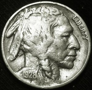 NICE 1928 P BUFFALO NICKEL 5 COMBINED S&H AVAILABLE GW21BV