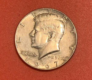 SILVER 1967 KENNEDY HALF DOLLAR ERROR