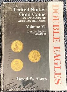 6. AKERS DOUBLE EAGLE BOOK STILL WRAPPED