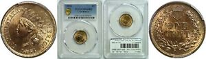 Click now to see the BUY IT NOW Price! 1864 L INDIAN HEAD CENT PCGS MS 66 RD