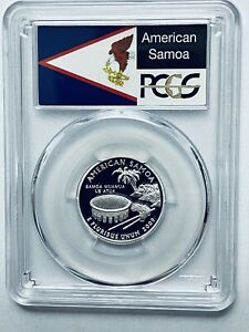 Click now to see the BUY IT NOW Price! 2009 S AMERICAN SAMOA TERRITORIAL SILVER QUARTER PCGS PR70DCAM