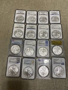 Click now to see the BUY IT NOW Price! 2006   2020 BURNISHED 16 COIN SET WITH 2008 REVERSE 2013W AND 2011S 25TH NGC 70