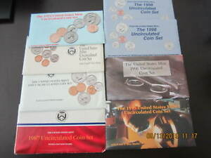 Click now to see the BUY IT NOW Price! UNITED STATES MINT SET LOT 7  SETS 1987 1992 1994 1995 1996 & 2  1998