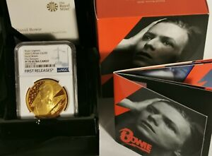 Click now to see the BUY IT NOW Price! 2020 DAVID BOWIE TWO OUNCE GOLD GBP200 NGC FIRST RELEASES ROYAL MINT PF70