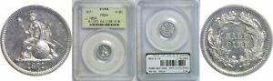 Click now to see the BUY IT NOW Price! 1871 U.S. PATTERN HALF DIME PCGS PR 64 J 1064 R 8