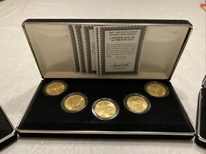 1999 2008 24K GOLD PLATED STATE QUARTER COLLECTION. 50 STATE QUARTERS CERTIFIED