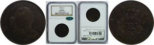 1804 LARGE CENT NGC VG 8 BN CAC S 266