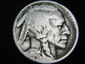 NICE 1917 P BUFFALO NICKEL 5 COMBINED S&H AVAILABLE ON SAME INVOICE HA99UP