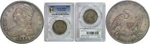Click now to see the BUY IT NOW Price! 1836 BUST HALF DOLLAR PCGS MS 63 REEDED EDGE
